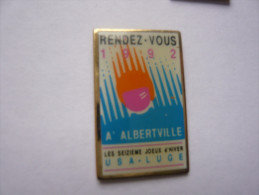 Pin S Jeux Olympiques D Albertville - Olympic Games