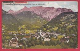169568 / Schruns IM MONTAFON MIT ZIMBASPITZE 2645 M. VORARLBERG  USED 1924 Austria Österreich Autriche - Schruns