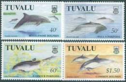 Tuvalu - 1998 - Faune Marine, Dophins - 4v Neufs ** // Mnh - Tuvalu