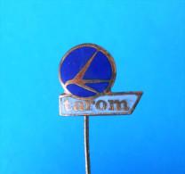 TAROM - Romania National Airlines * Vintage Enamel Pin Badge - Advertisements