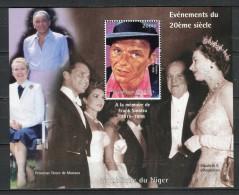 Cine. Niger 1998. Yvert Block 111 Frank Sinatra. ** MNH. - Cinéma