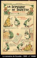 La Semaine De Suzette - Specimen Miniature - 4 Fevrier 1909 - Rif. 16699 - La Semaine De Suzette