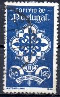 PORTUGAL 1940 Portuguese Legion - 1e75  Cross Of Avis FU PAPER ATTACHED - 1910-... Republic
