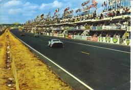 24 Heures Du Mans  -  Les Stands De Ravitaillement  -  Porsche 904 -  Carte Postale - Le Mans