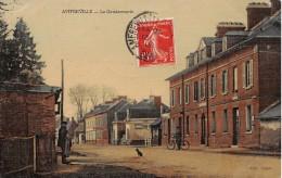 AMFREVILLE LA CAMPAGNE - La Gendarmerie (carte Toilée) - France
