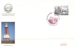 (125) Australia - First Day Cover - National Trust - 1992 - Cape Jaffa Lighthouse - Primo Giorno D'emissione (FDC)