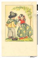 Illustrata P.v. Dyk Viaggiata Ottimo Stato Bollo Mancante - Illustrateurs & Photographes