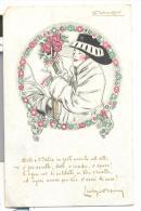 Illustratore L.A.Mauzan Per La Propaganda Del Prestito Fra Le Donne Italiane A Cura Del Credito Italiano Viagg. 1918 - Mauzan, L.A.