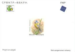 BELGIQUE 2015 - Projet non adopt� NA  32 LUXE - M�sange bleue par Buzin