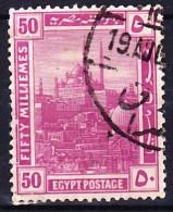 EGYPTE SULTANAT 1914 YT N° 51 Obl. - Égypte