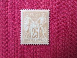 SAGE NUMERO 92 * BON CENTRAGE    COTE 550 EUROS - 1876-1898 Sage (Type II)