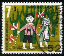 A10-11-4) BRD - Michel 369 - OO Gestempelt (C) - 7+3Pf Hänsel Und Gretel, Wohlfahrt 61 - [7] West-Duitsland