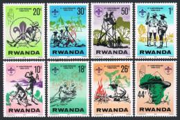 RWANDA 1978 - 10e ann du scoutisme au Rwanda - 8 val Neuf // Mnh