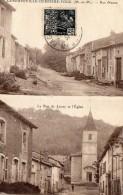CPA -   LANEUVEVILLE - DERRIERE - FOUG  ( 54)    Rue Neuve -  La Rue De Lucey Et L' Eglise - France