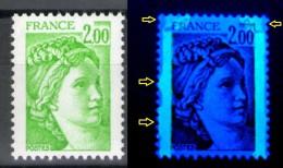 Sabine N° 1977**_tache Lavis Phospho Au Dessus Et Bord De Bande_voir Scan - Variedades: 1970-79 Nuevos