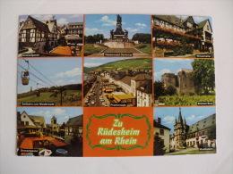 Postcard Postal Rüdesheim Am Rhein - Ruedesheim A. Rh.