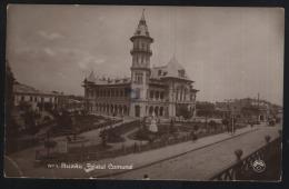 Buzau-Palatul Comunal-2 Scans-front/back - Romania