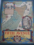 NEW YORK,FIFTH AVENUE OLD AND NEW 1824 1924 - Livres, BD, Revues