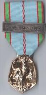 MEDAILLE GUERRE 1939-1945 REPUBLIQUE FRANCAISE Avec Agrafe ALLEMAGNE -  Graveur P JOSSE - France