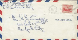 Corea War 1952 US Army Postal Service APO Military Cover - Korea (Zuid)