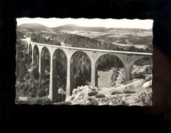 LE MONASTIER SUR GAZEILLE Haute Loire 43 : Viaduc De Recoumène Et Les Monts Breysse - Francia