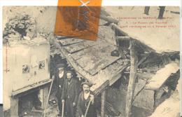 Catastrophe De BAREGES - La Maison Des Victimes Aprés L'Avalanche  Du 2 Février 1907 - France