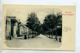 ITALIE FERRARA  Dame Rue Du Village 1904 Dos Non Divisé   /D05-2015 - Ferrara