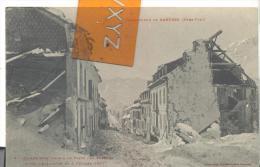 Catastrophe De BAREGES - La Rue Principale , Voir Scan - Frankrijk