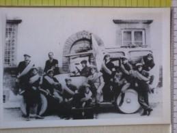 Cart.- 100° ANPAS -  Inaugurazione Del Nuovo Carro-automobile Nel 1922.- P.A. Croce Verde Di Lucca. - Inaugurazioni