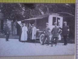 Cart.- 100° ANPAS -  Inaugurazione Dell'ambulanza Ospedale Nel 1913/14 - Croce Verde A.P. Di Milano. - Inaugurazioni