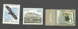 Estonie N°267, 379, 617 Neufs** Cote 3.30 Euros - Estonia