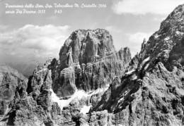 Panorama Dalla Staz. Sup. Telecabina M. Cristallo Verso Piz Popena - Italia