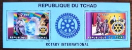 TCHAD ROTARY, Yvert 623/24 Bloc Collectif Emis En 1996 Neuf Sans Charniere, MNH - Rotary, Lions Club