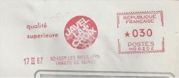 Hypochlorite, Nettoyage, Eau, Javel, La Croix, Issy Les Moulineaux - EMA Havas  -  Devant D'enveloppe    (P663) - Chimica