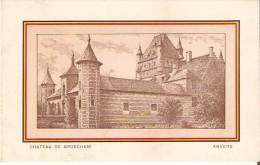 RANST / BROECHEM (2520) : Kasteel - Château De Bossenstein à M. A. Spruyt-de Hulegenrode. Dessin - Série Des Châteaux. - Ranst