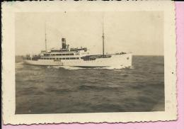 Photography - Ship on Baltic sea, 1944. (9,5 x 6,5 cm)