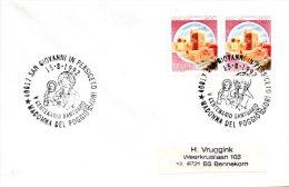 ITALIE. Enveloppe Ayant Circulé En 1992. Madonna Del Poggio. - Christianity
