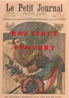 491 < PETIT JOURNAL <  GUERRE Des BOERS MORT Du Gal JOUBERT + PRINCE KOTOHITO KAN IN + EXPOSITION PARIS 1900 ETATS UNIS - Journaux - Quotidiens