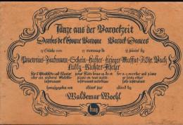 Altes Notenbuch , Tänze Aus Der Barockzeit , Barock , Waldemar Woehl , Musik , Blockflöte !!! - Blasinstrumente