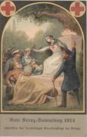 AK Rote Kreuz Sammlung 1914 Color Gelaufen Ansehen !!!!!!!!!!!!!! - Rotes Kreuz