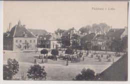 PHALSBOURG : PFALZBURG I. LOTHR. - PLACE D´ARMES - MILITAIRES - 2 SCANS - - Phalsbourg