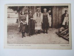 AK 1919 Trachten Polnischer Frauen. Photothek, Berlin. Rote - Kreuz Kalender - Europe
