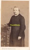 PHOTO CDV CARTE DE VISITE **  HOMME RELIGIEUX PERE MONSIEUR ** ANVERS ANTWERPEN - Foto's