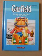 Garfield Jim Davis Sous La Pâtée, La Plage édition Publicitaire Total Petit Format - Garfield