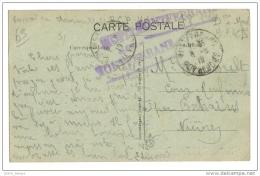 Cachet Hopital  Militaire Montferrand 63 - War 1914-18