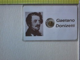 Sheda Con Medaglietta Del Musicista Gaetano Donizetti . - Pin's
