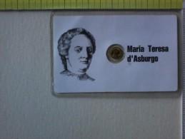 Sheda Con Medaglietta Di Maria Teresa D' Asburgo. - Pin's