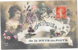 LA HAYE DU PUITS (50) Carte Fantaisie Souvenir De - France