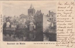 Menen, Menin, Vue De La Ville Du Côté De La Lys (pk16900) - Menen