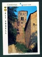 SPAIN  -  Alt Urgell  Sant Roma Church  Used Postcard As Scans - Other